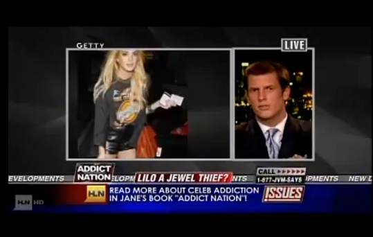 Jamison Monroe talks about Lindsey Lohan