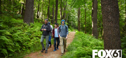 FOX61: Teens_Hiking_Woods_Newport_Academy