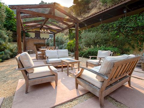 Newport Academy Northern California Residence Backyard