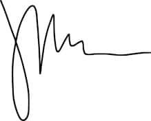 Jamison Monroe's signature