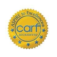 Commission on Accreditation of Rehabilitation Facilities logo