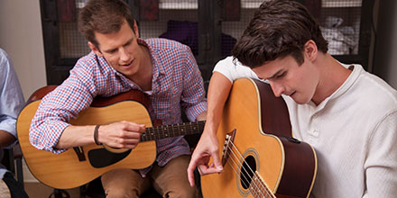 Learn more about Our Approach: Music Therapy