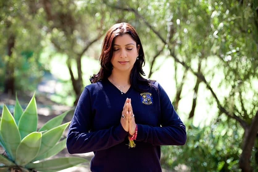 Priya Jain: Yoga and Meditation Instructor for Newport Academy