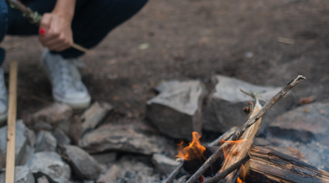 Starting a Fire for Adventure Based Therapy