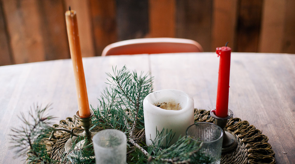 Table Setting - Holiday Stress