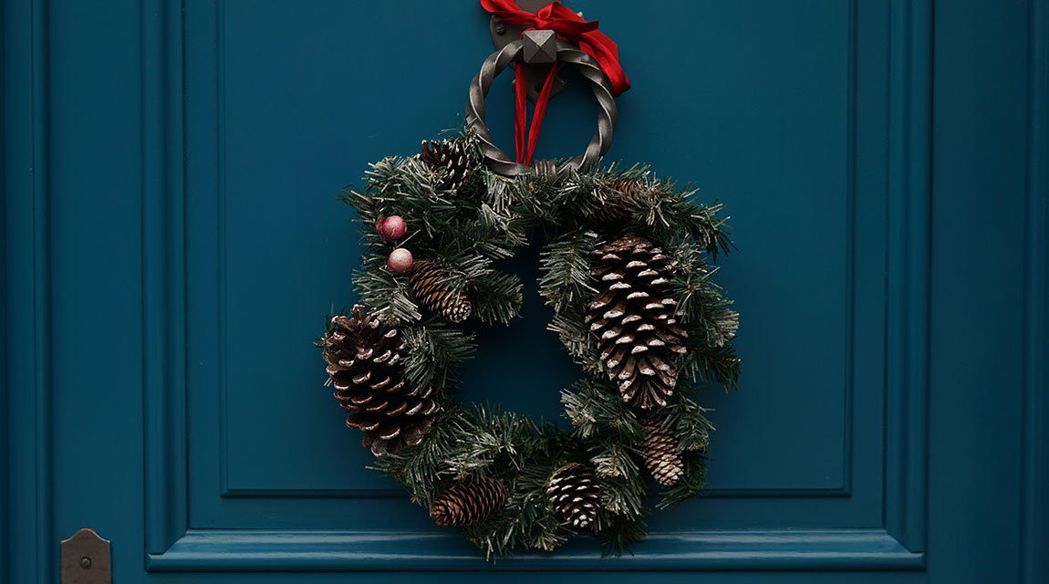 Holiday Wreath - Get Rid of Holiday Stress