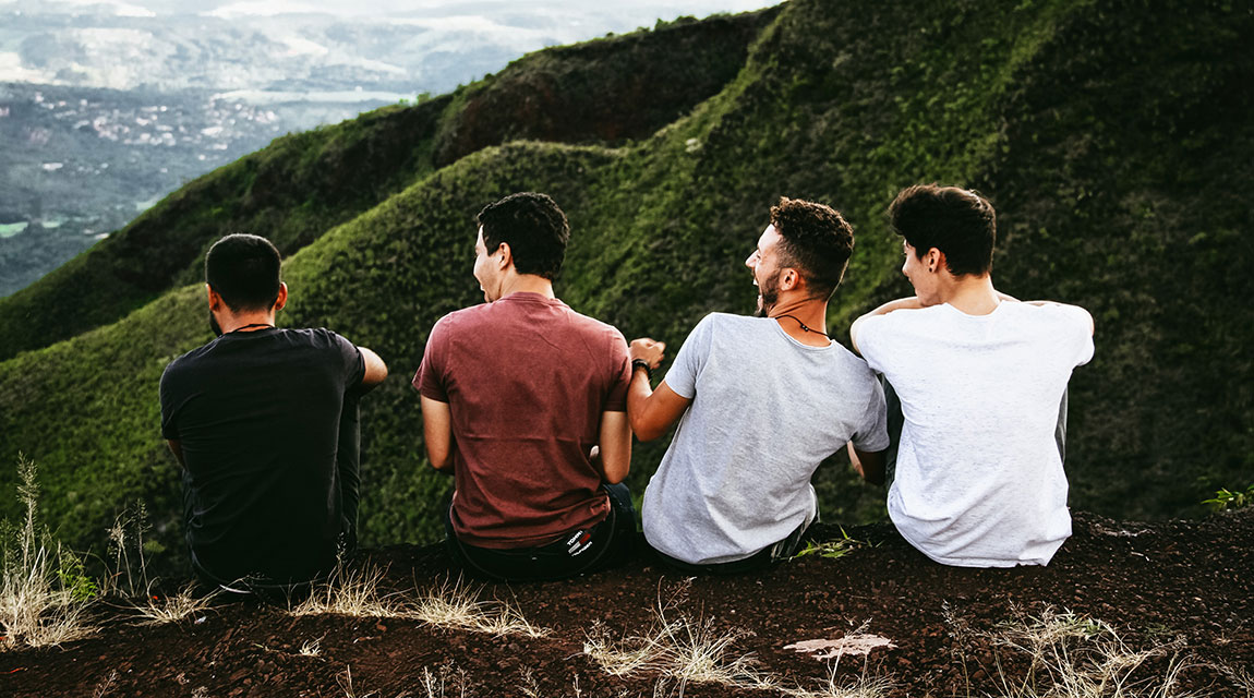 Teens on Cliffside Hill - Learning Disability Diagnosis