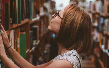 Learning Disability Diagnosis - Girl in Library