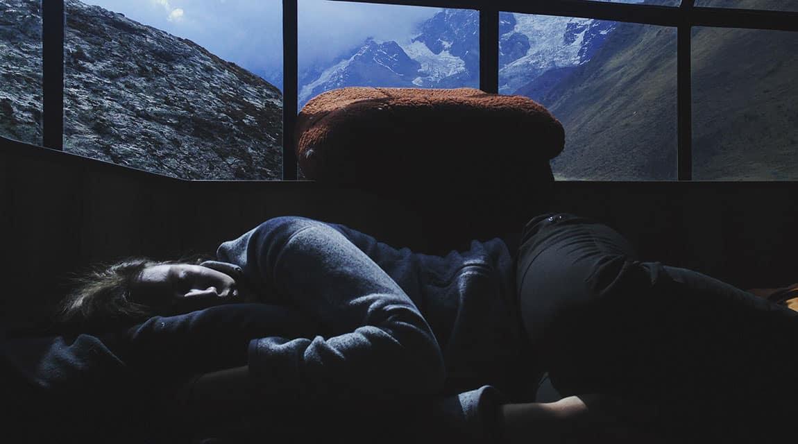 Painkiller Addiction Side Effects - Teen Sleeping